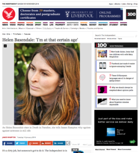 Helen Baxendale actor